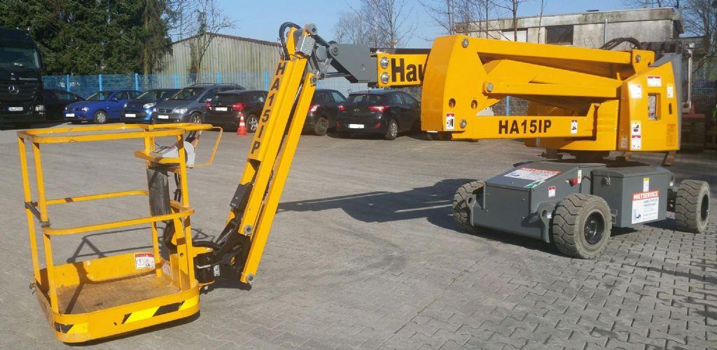 Haulotte-HA 15 IP-Gelenkteleskopbühne-www.gabelstapler-finger.com