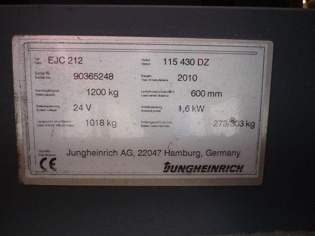 Jungheinrich-EJC 212-Deichselstapler-www.fischer-gabelstapler.de