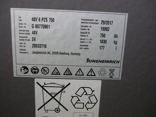 Jungheinrich-EFG 218-Elektro 3 Rad-Stapler-www.fischer-gabelstapler.de