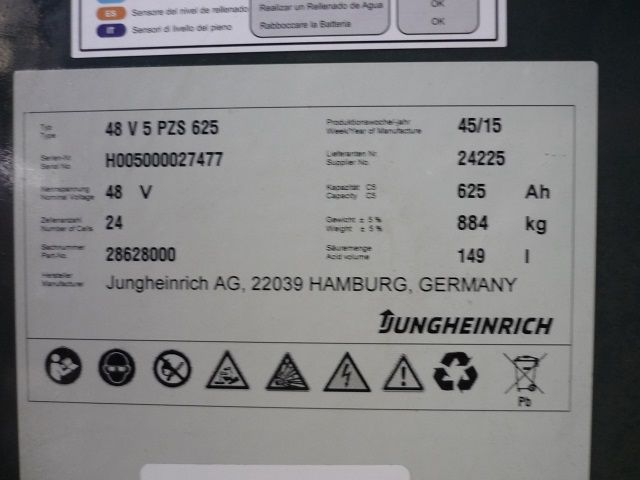 Jungheinrich-EFG 216 K-Elektro 3 Rad-Stapler-www.fischer-gabelstapler.de