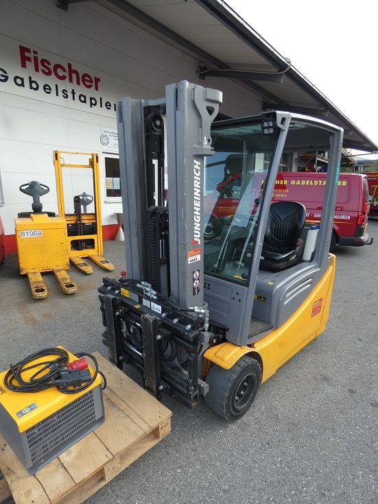 Jungheinrich-EFG 220-Elektro 3 Rad-Stapler-www.fischer-gabelstapler.de