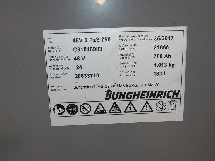 Jungheinrich-EFG 216 Duo Pilot -Elektro 3 Rad-Stapler-www.fischer-gabelstapler.de