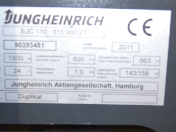 Jungheinrich-EJC 110-Deichselstapler-www.fischer-gabelstapler.de
