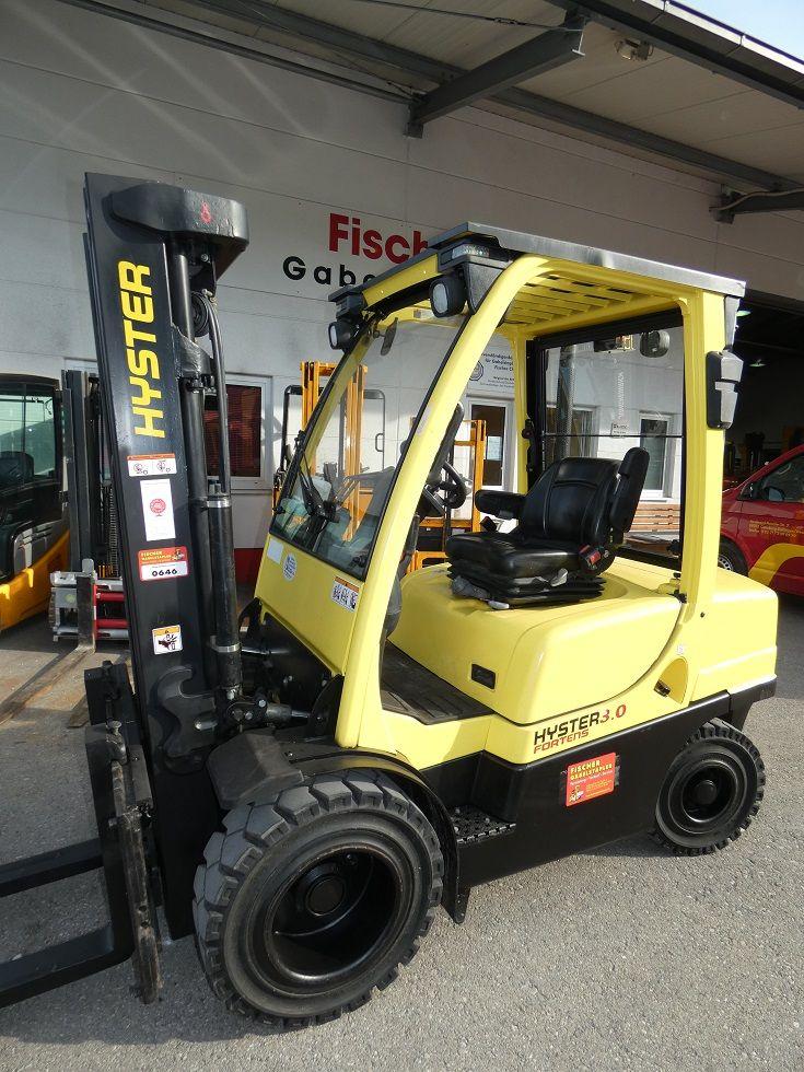 Hyster-H 3.0 FT-Dieselstapler-www.fischer-gabelstapler.de