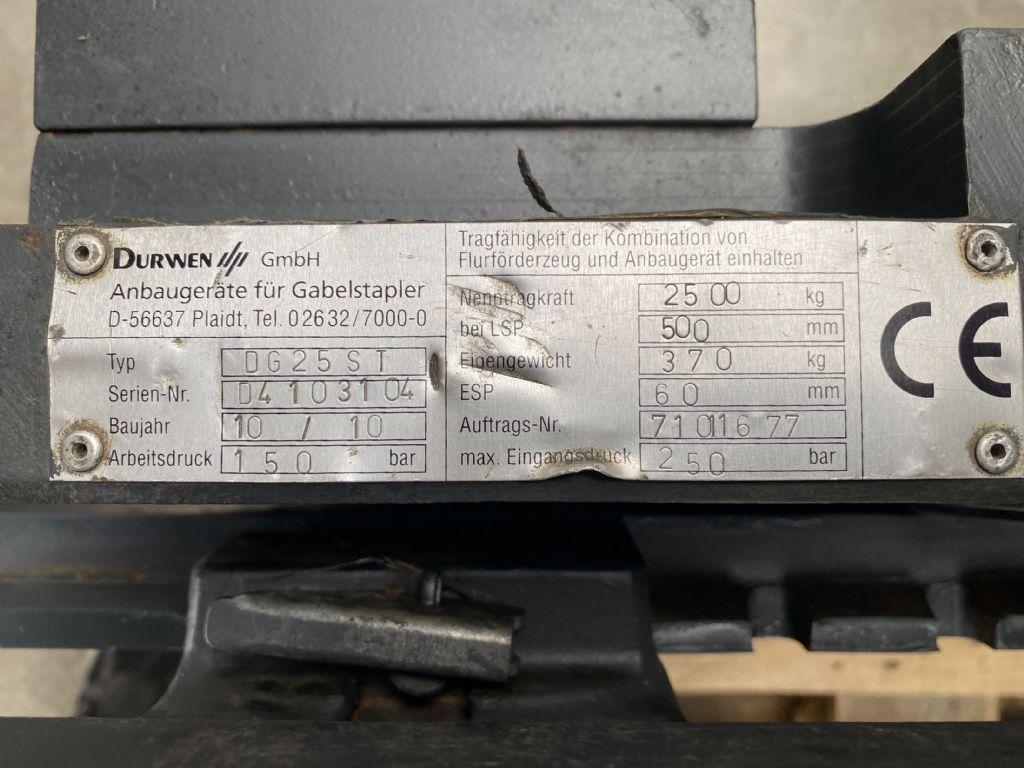 Durwen-DG 25 ST mit klapbbarem Haltarm-Drehgerät-www.fleischmann-foerdertechnik.de