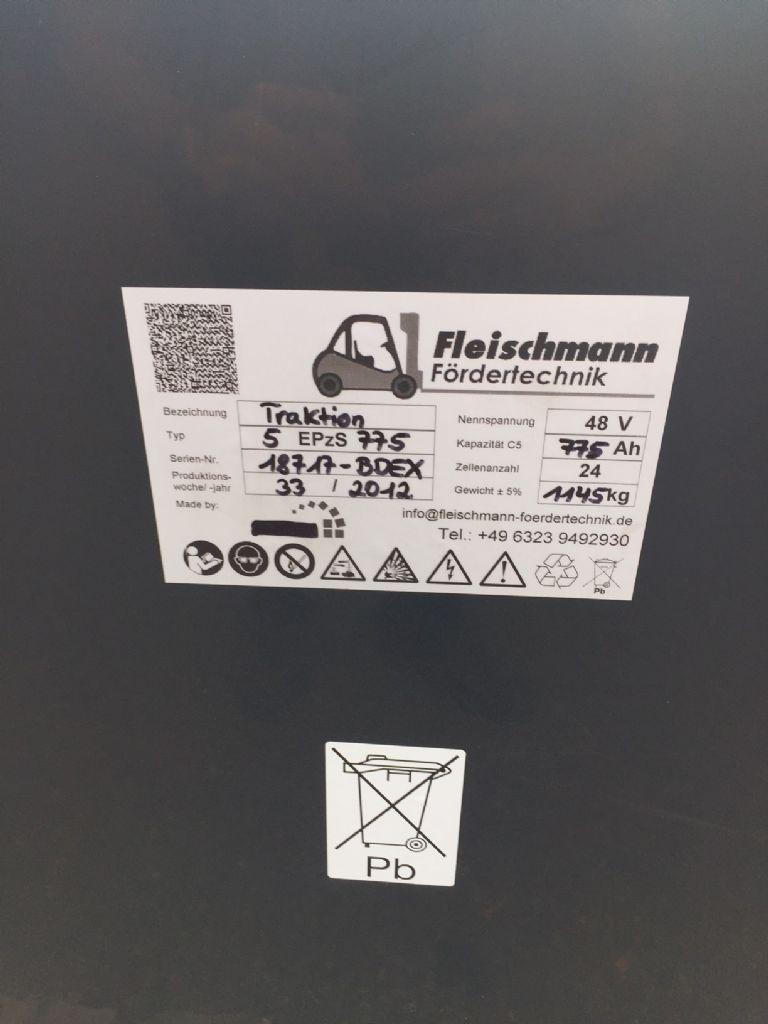 *Sonstige-48V Batterie 775AH Bj.2012-Antriebsbatterie-www.fleischmann-foerdertechnik.de