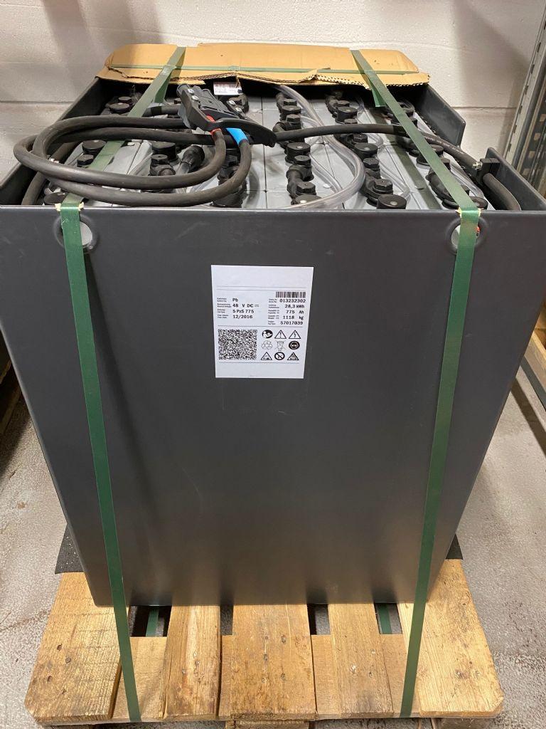 *Sonstige-48V Batterie 775AH Bj.2016-Antriebsbatterie-www.fleischmann-foerdertechnik.de