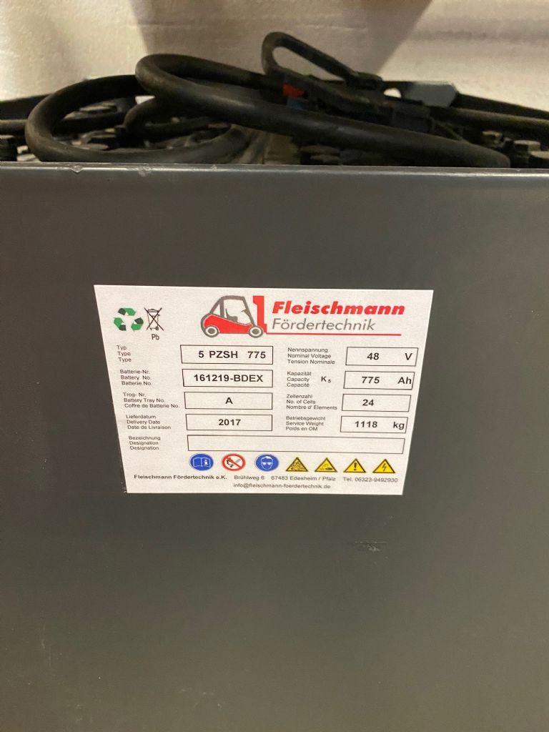 *Sonstige-48V Batterie 775AH Bj.2017-Antriebsbatterie-www.fleischmann-foerdertechnik.de