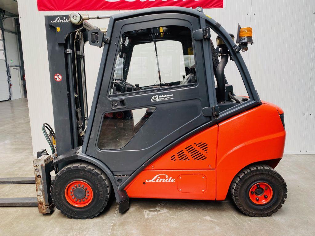 Linde-H 30 D-01 Kabine Triplex-Dieselstapler-www.fleischmann-foerdertechnik.de