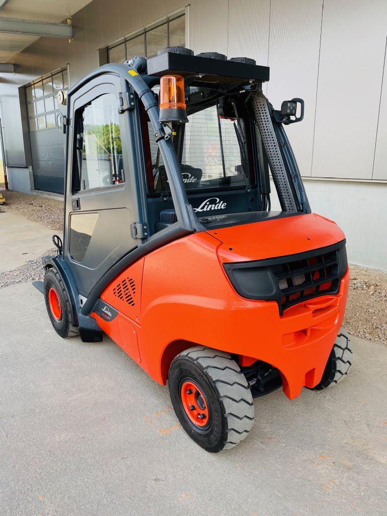 Linde-H 35 D-02 EVO 3A Triplex Klima -Dieselstapler-www.fleischmann-foerdertechnik.de