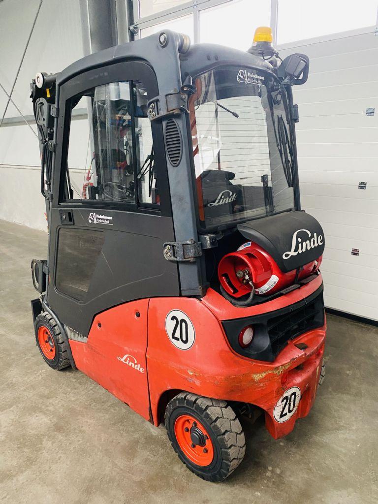 Linde-H 16 T-01 Kabine Triplex STVO -Treibgasstapler-www.fleischmann-foerdertechnik.de