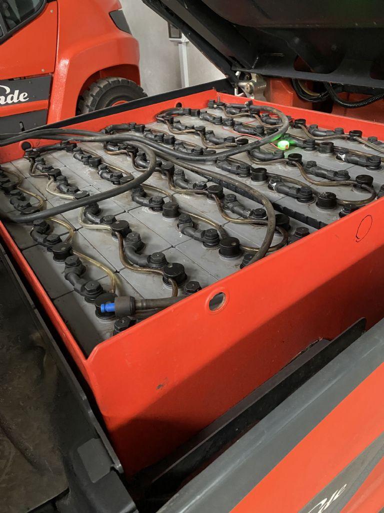 Linde E 40 HL-01-600 Elektro 4 Rad-Stapler www.mr-staplerservice.de
