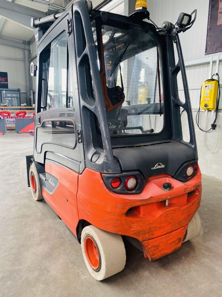 Linde-E 30 L-01 Kabine -Elektro 4 Rad-Stapler-www.fleischmann-foerdertechnik.de