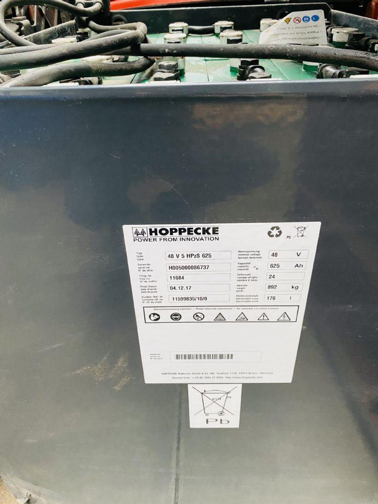 Linde-E 16-01 Triplex Batterie Bj.17-Elektro 3 Rad-Stapler-www.fleischmann-foerdertechnik.de