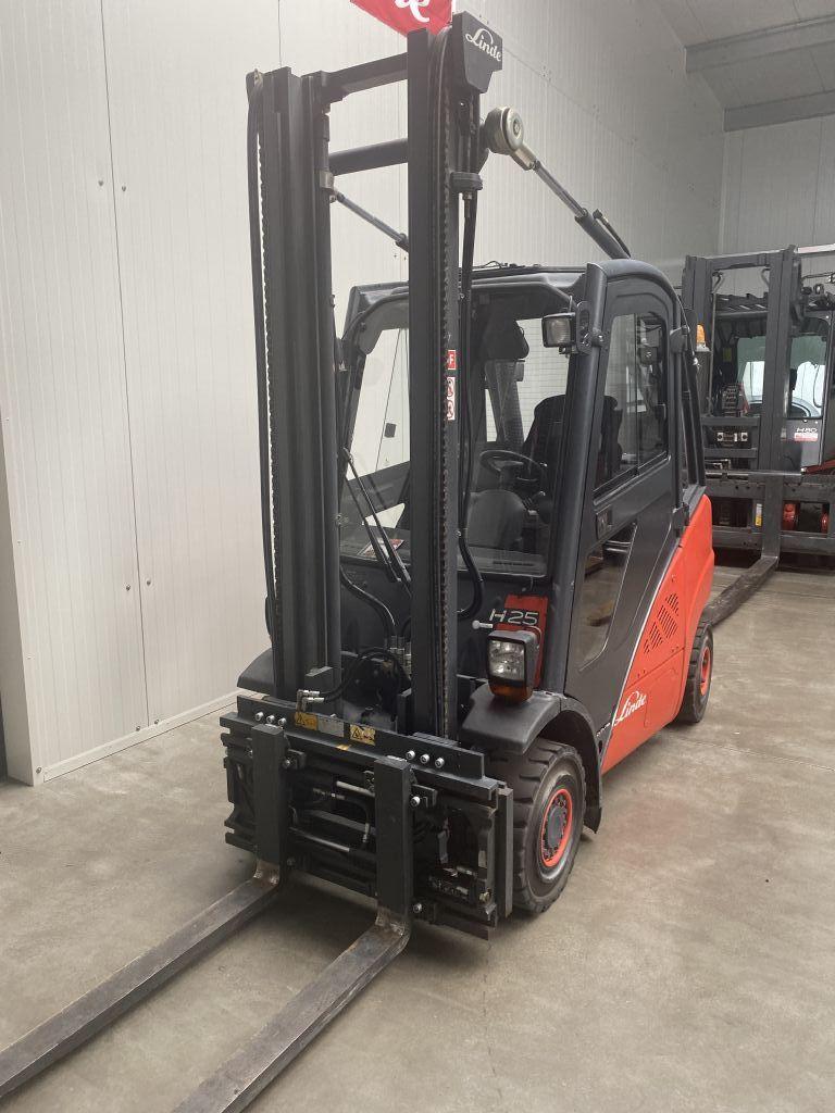 Linde H 25 D-01 STVO Kabine  Dieselstapler www.mr-staplerservice.de
