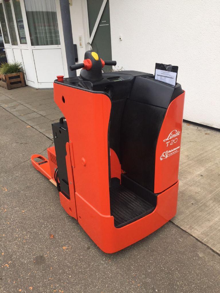 Linde-T 20 SF Batterie NEU-Niederhubwagen-www.fleischmann-foerdertechnik.de