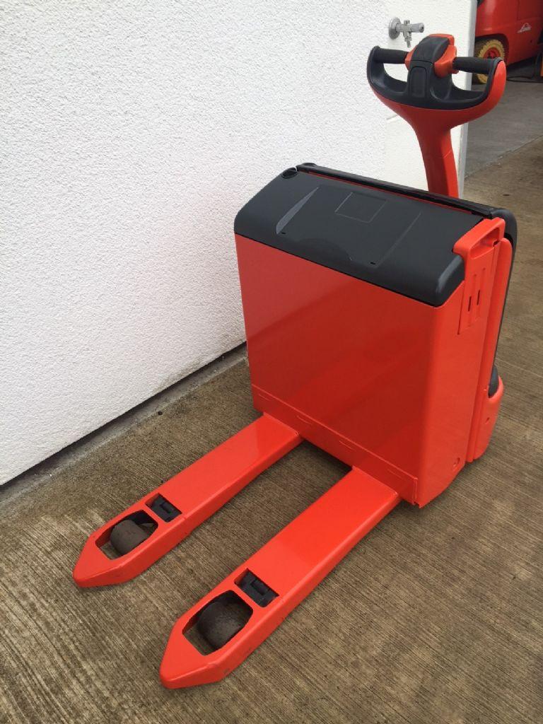 Linde-T 16 kurze Gabeln 800mm-Niederhubwagen-www.fleischmann-foerdertechnik.de