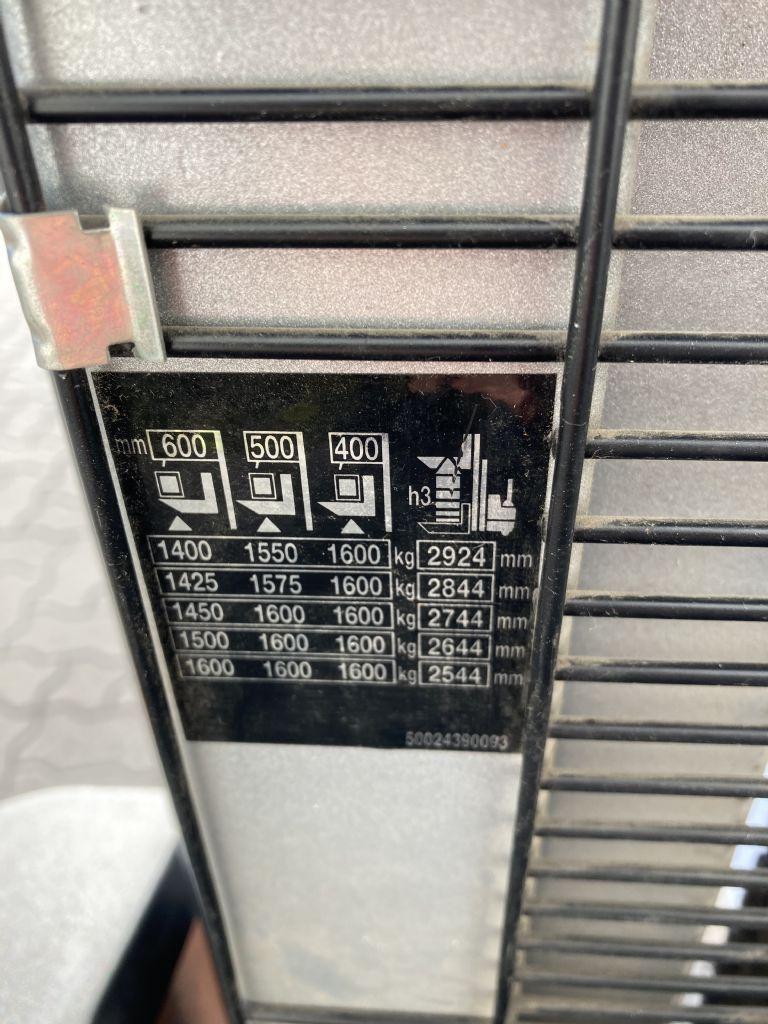 Still EGV 16 / 1148 Std.  Hochhubwagen www.forkliftcenter-bremen.de
