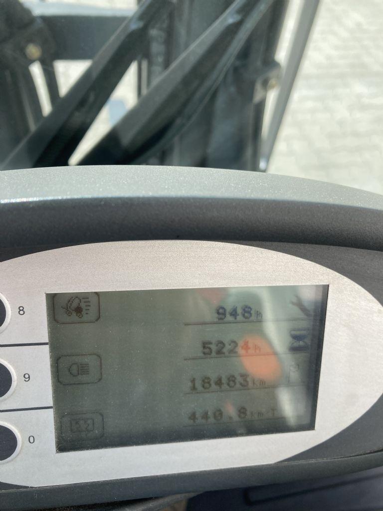 Still RX 20-16 / 5225 Std. Elektro 3 Rad-Stapler www.forkliftcenter-bremen.de