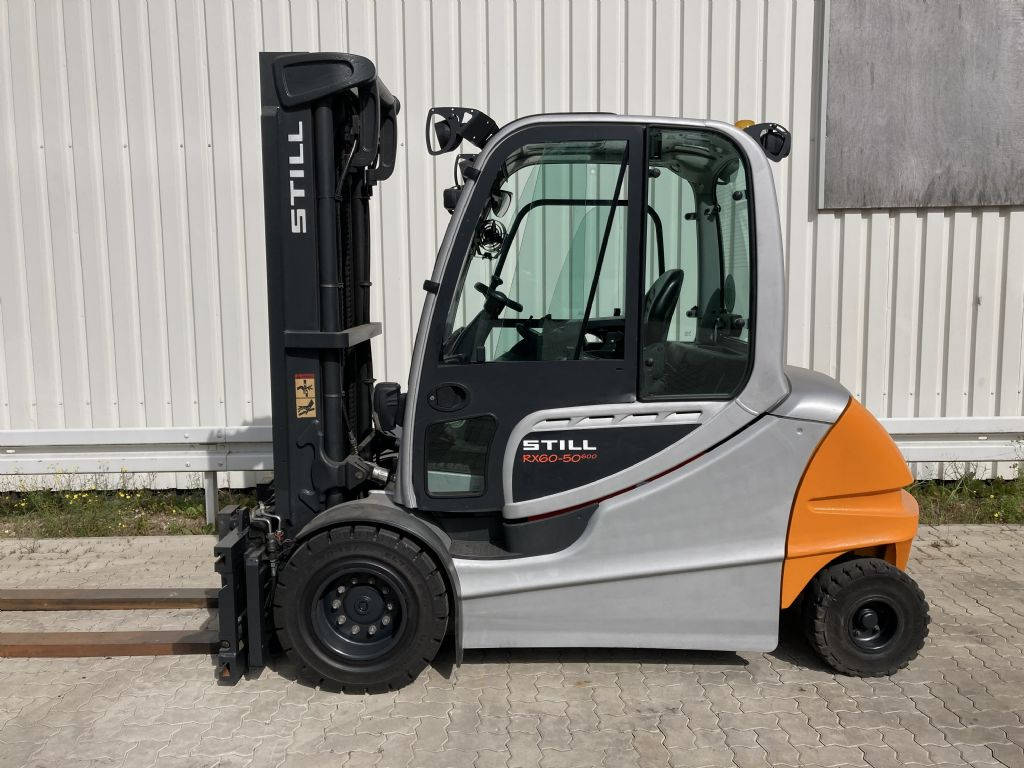 Still-RX 60-50 / 600   Batt. 2016-Electric 4-wheel forklift-www.forkliftcenter-bremen.de