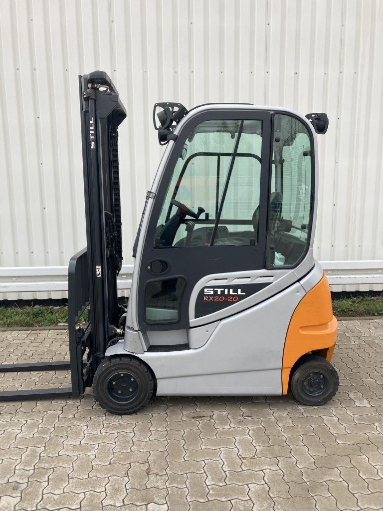 Still RX 20-20 PH / Batt. 2018 Elektro 4 Rad-Stapler www.forkliftcenter-bremen.de