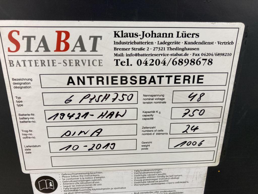 Jungheinrich EFG 320 / Batt. 2019 Elektro 4 Rad-Stapler www.forkliftcenter-bremen.de