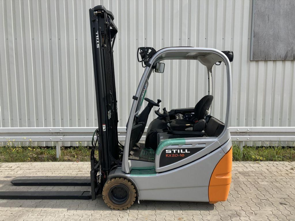 Still-RX 20-16 / Batt. NEU-Elektro 3 Rad-Stapler-www.forkliftcenter-bremen.de