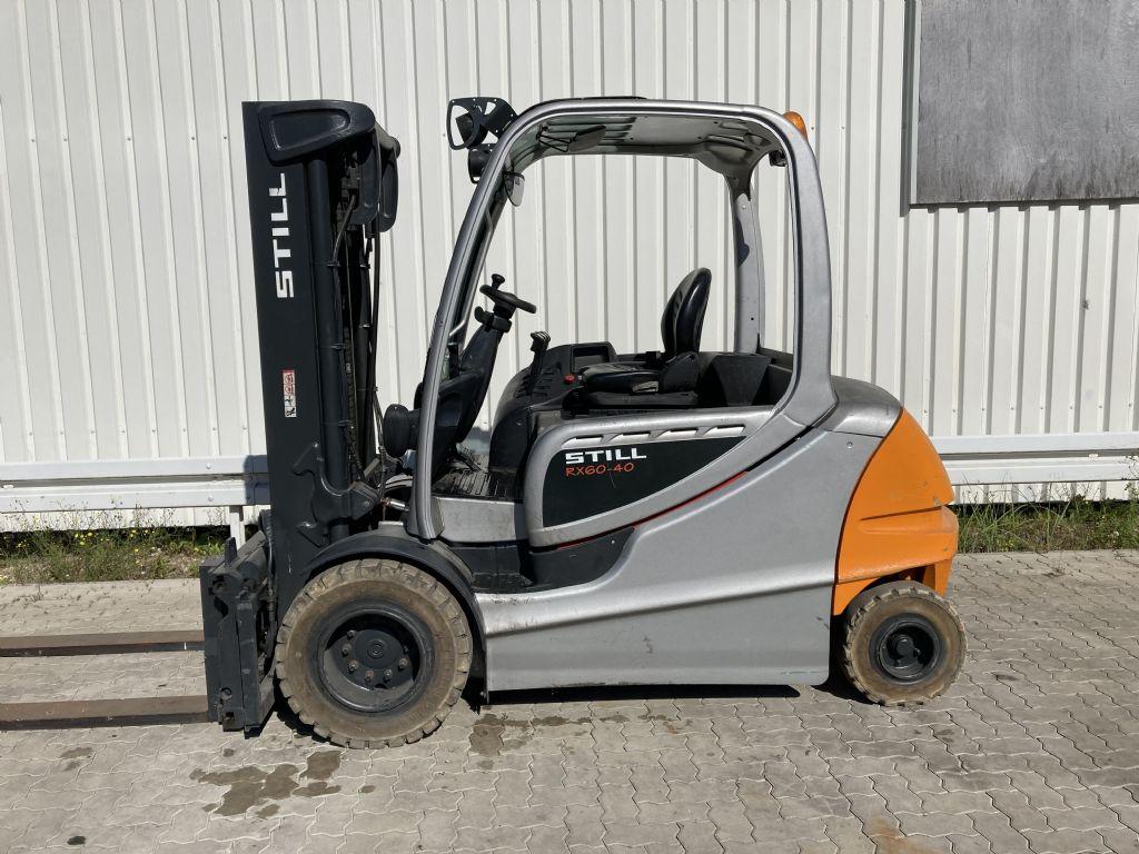 Still-RX 60-40 / 6136 Std.-Elektro 4 Rad-Stapler-www.forkliftcenter-bremen.de