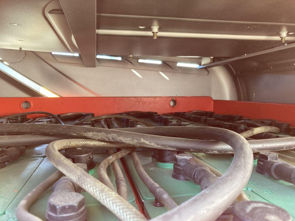 Still RX 60-40 / 6136 Std. Elektro 4 Rad-Stapler www.forkliftcenter-bremen.de