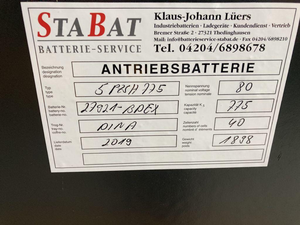 Jungheinrich EFG 430 / Batt. 2019 Elektro 4 Rad-Stapler www.forkliftcenter-bremen.de