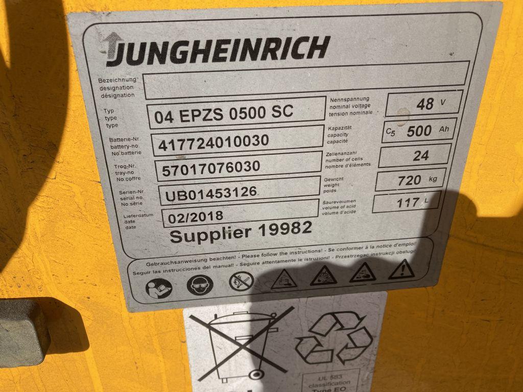 Jungheinrich EFG 213 / Batt. 2018 Elektro 3 Rad-Stapler www.forkliftcenter-bremen.de