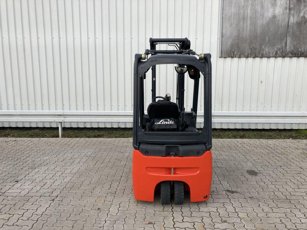 Linde E 16-02 / 4663 Std.  Elektro 3 Rad-Stapler www.forkliftcenter-bremen.de