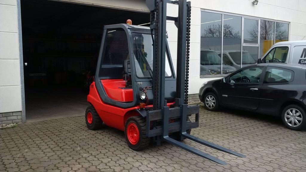 Linde H25D-01 Dieselstapler www.maier-freese.de