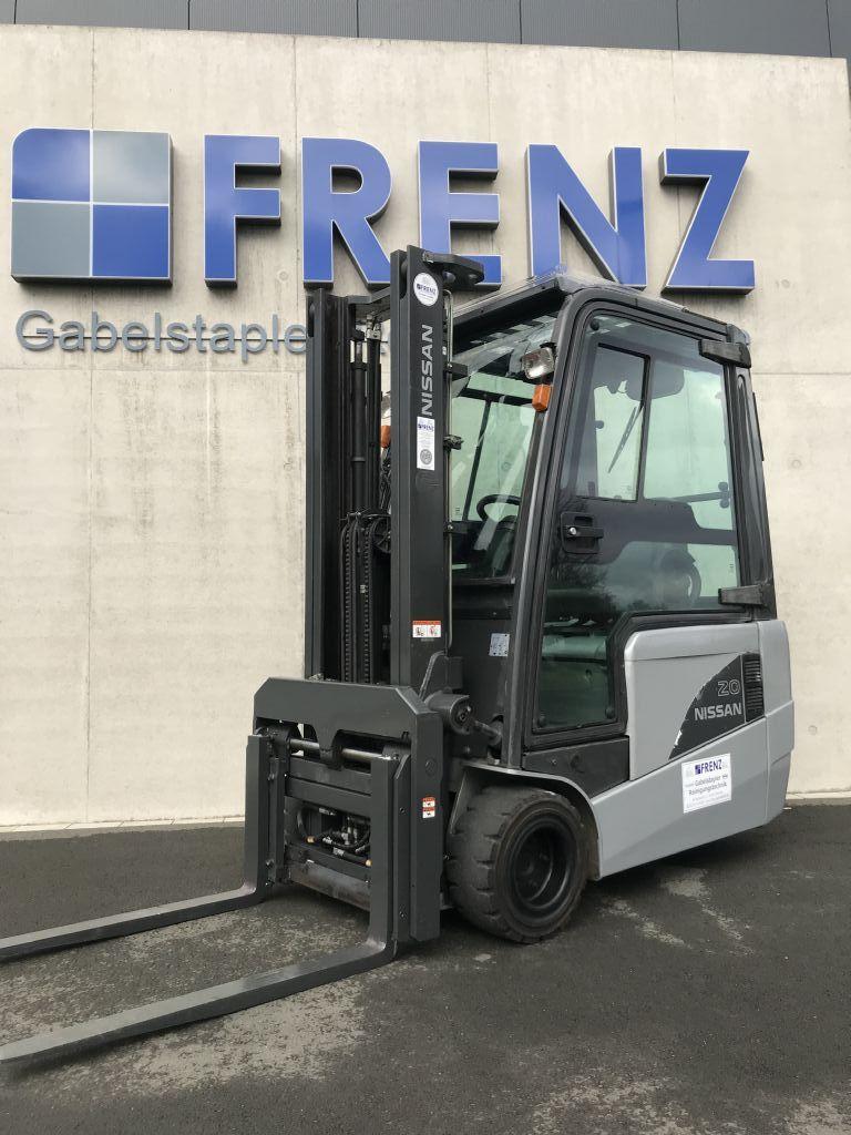 Nissan-TX20-Elektro 3 Rad-Stapler-www.frenz-gabelstapler.de