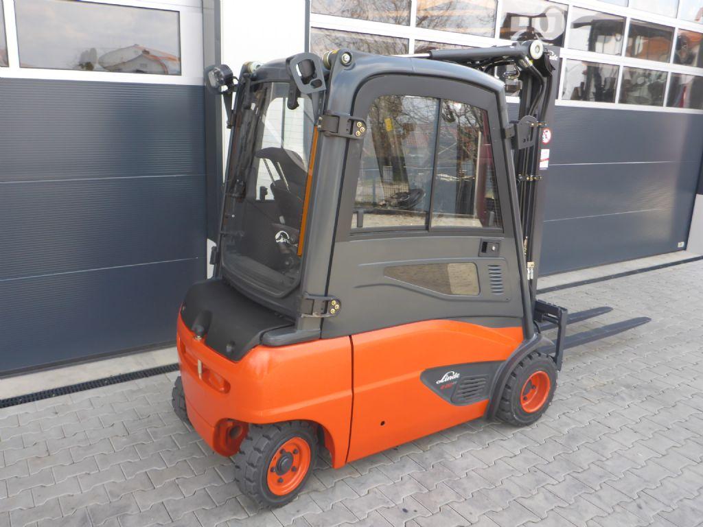 Linde E20 Elektro 4 Rad-Stapler www.stapler-graf.de