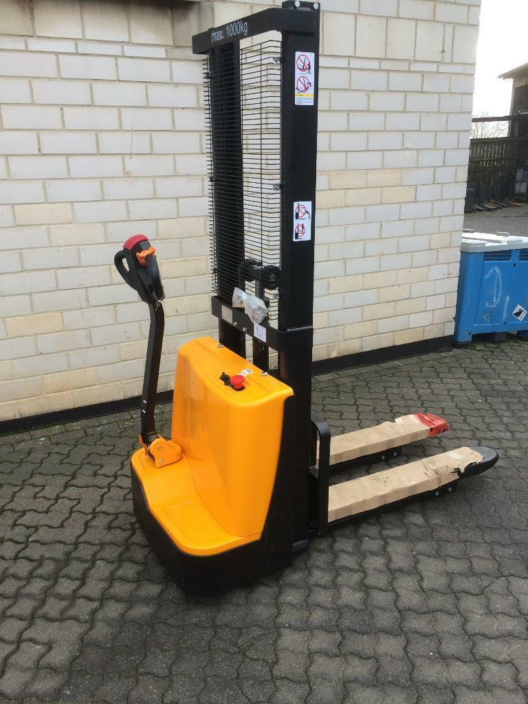 Q-Lift HME1000/1600 Hochhubwagen www.graf-gabelstapler.de
