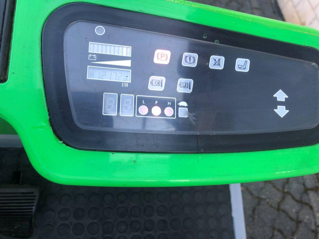 Cesab Blitz 250 AC Elektro 4 Rad-Stapler www.graf-gabelstapler.de