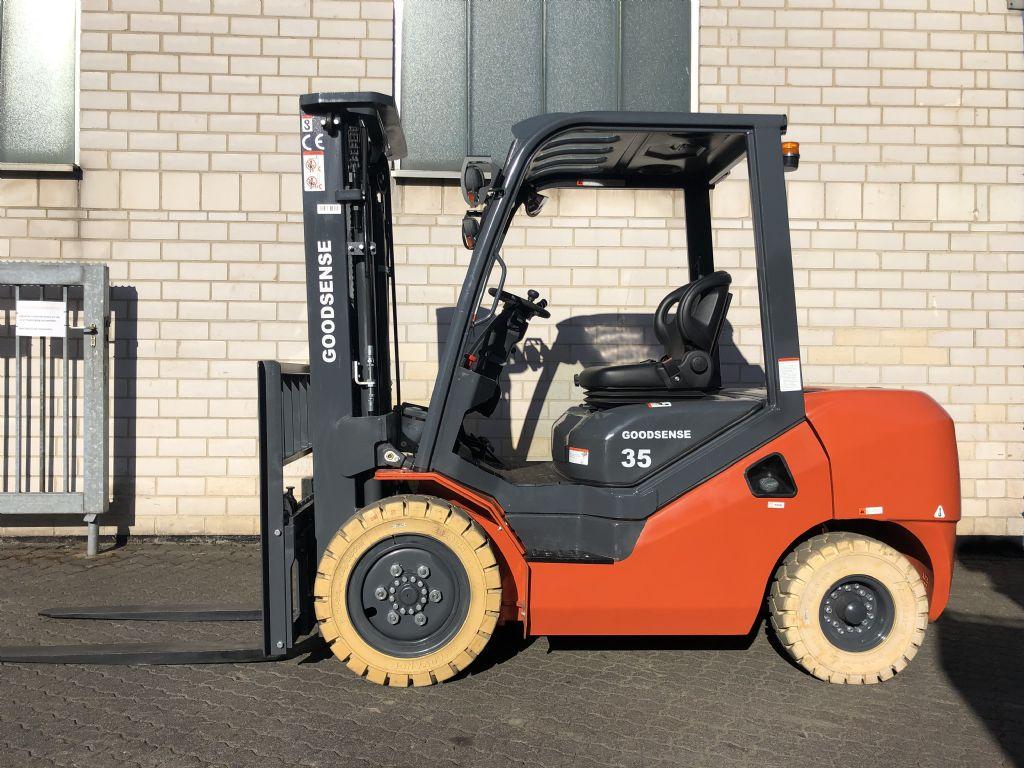 Goodsense FD35 Dieselstapler www.graf-gabelstapler.de