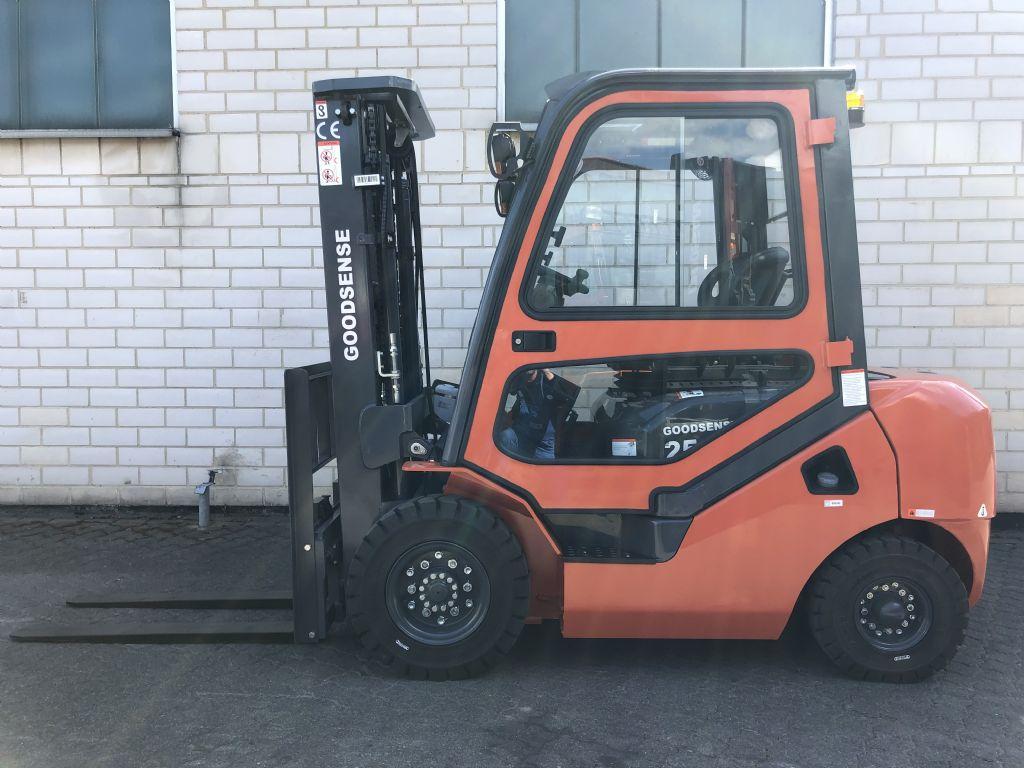 Goodsense FD25 Dieselstapler www.graf-gabelstapler.de