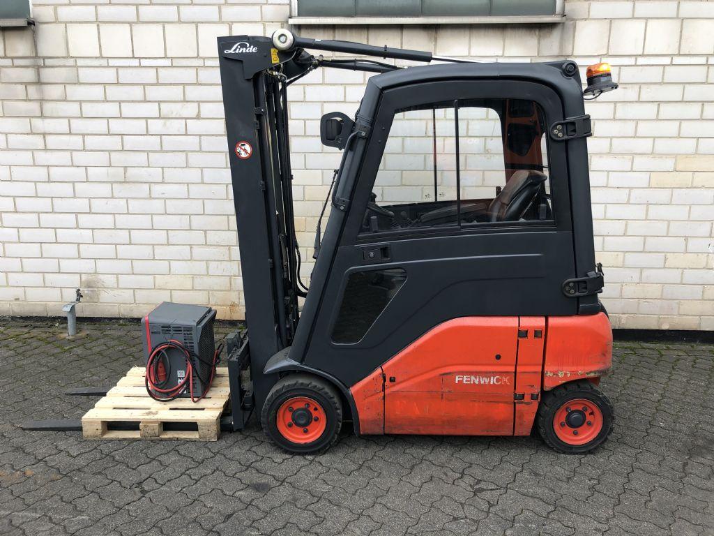 Linde Linde E16P-01 Elektro 4 Rad-Stapler www.graf-gabelstapler.de