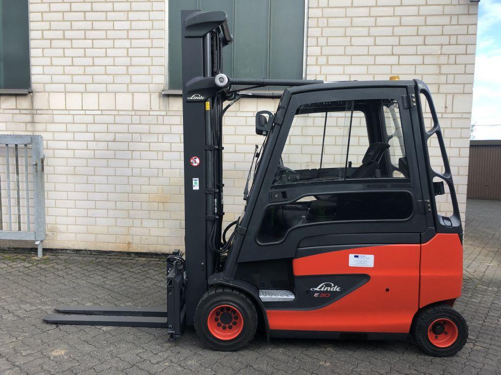 Linde E30HL-01/600 Elektro 4 Rad-Stapler www.graf-gabelstapler.de