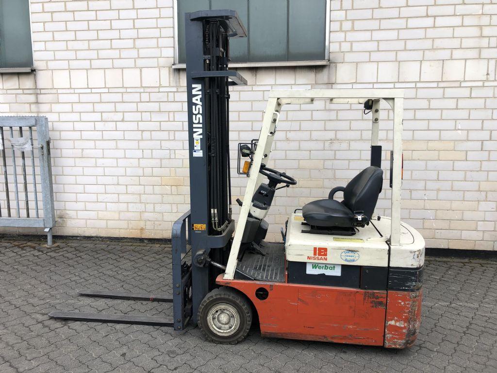 Nissan N01L18U Elektro 3 Rad-Stapler www.graf-gabelstapler.de