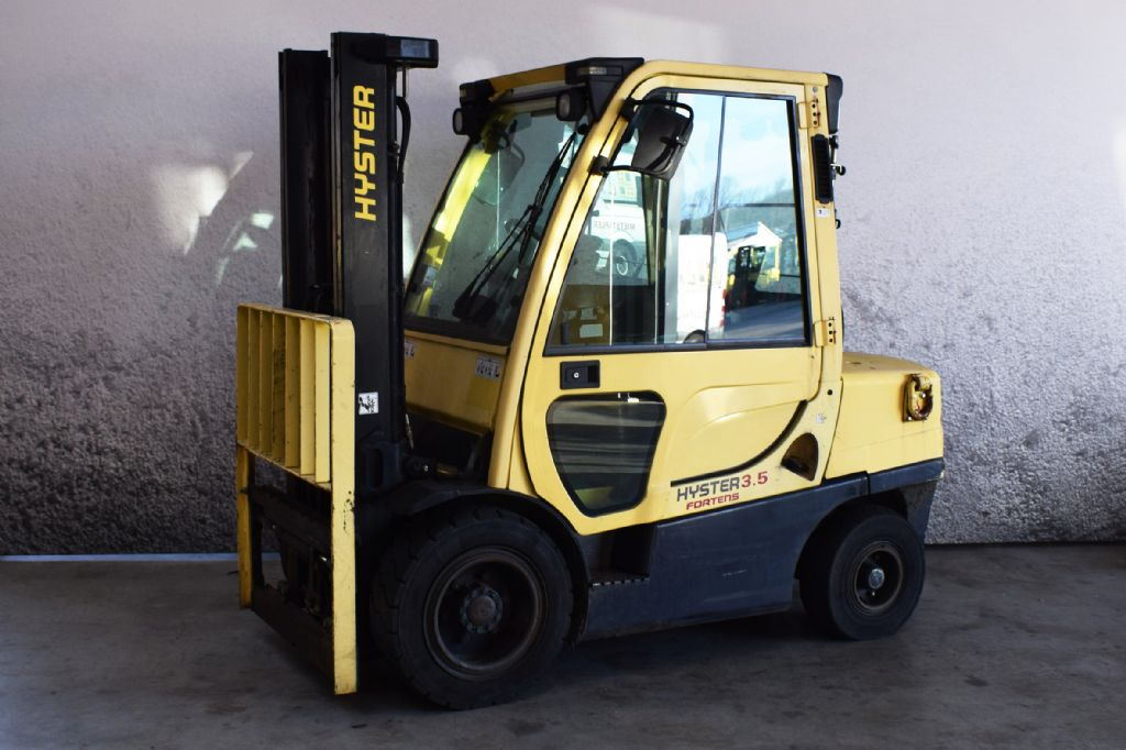 Hyster H 3.50 FT D Dieselstapler www.gs-gabelstapler.de