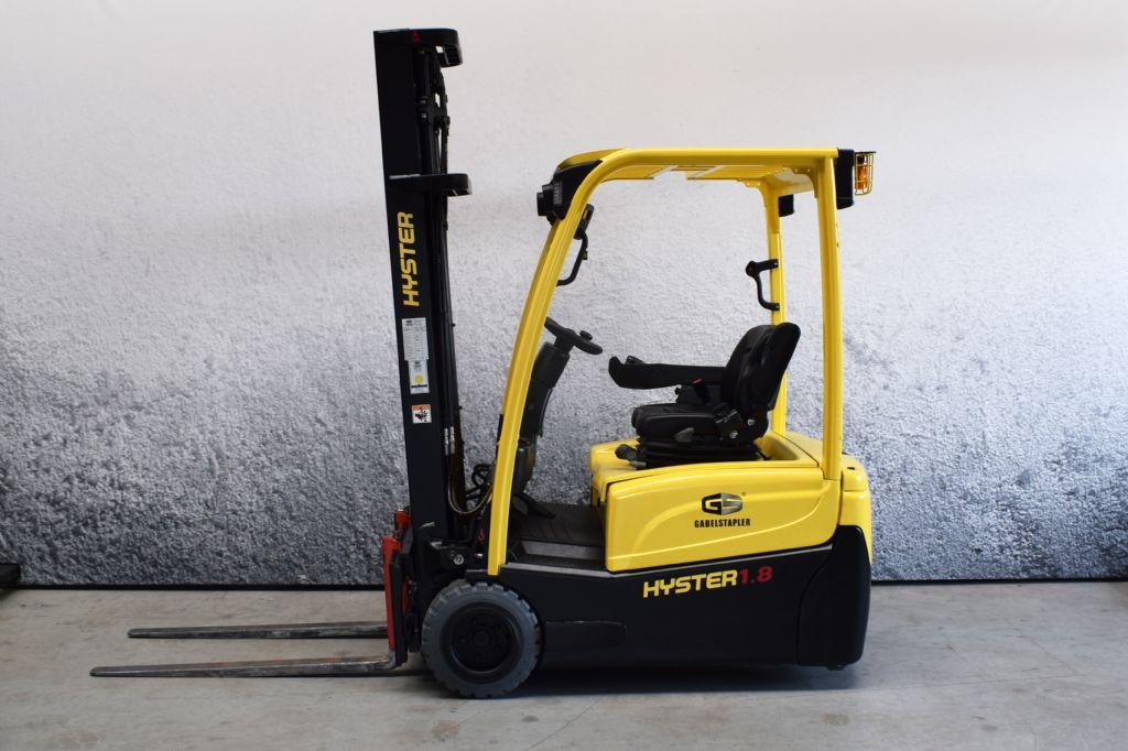 Hyster J 1.80 XNT MWB Elektro 3 Rad-Stapler www.gs-gabelstapler.de