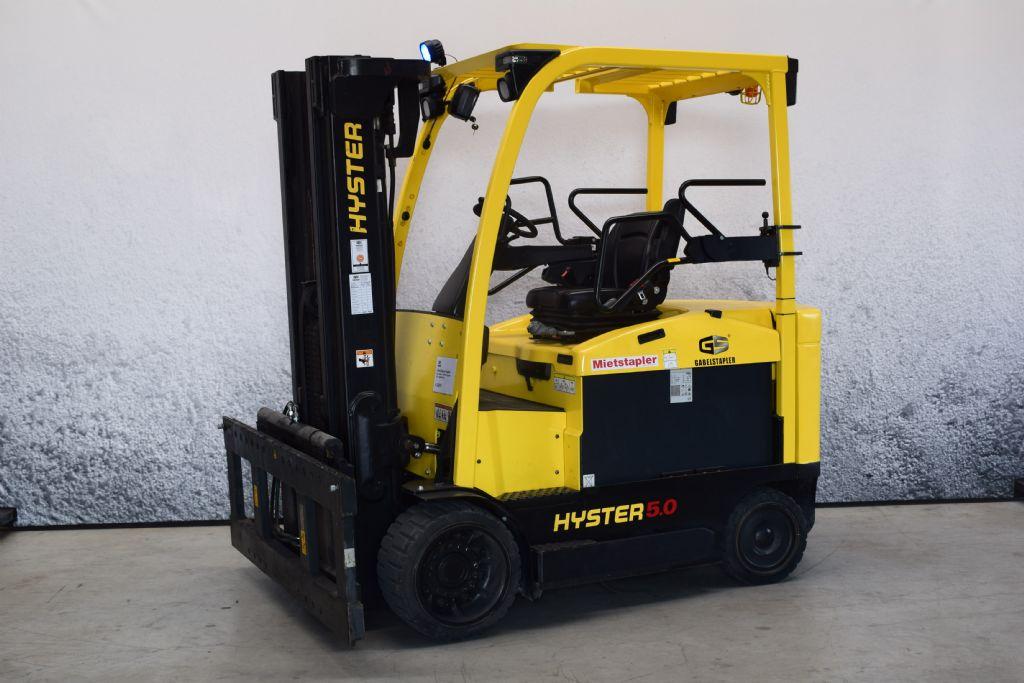 Hyster E 5.00 XNS Elektro 4 Rad-Stapler www.gs-gabelstapler.de