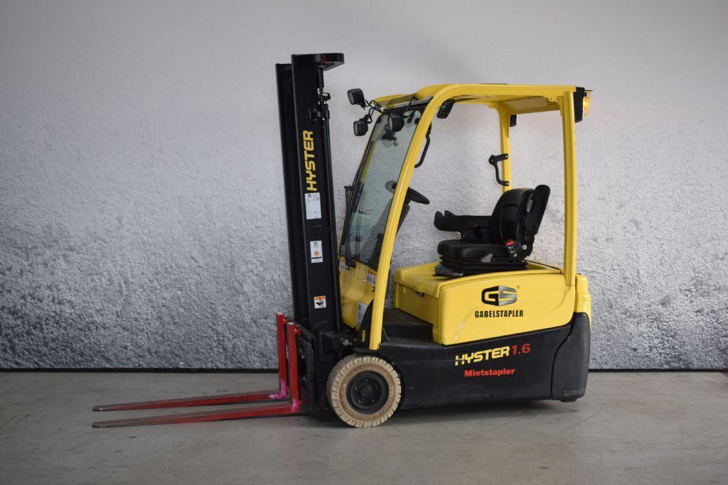 Hyster J 1.60 XNT MWB Elektro 3 Rad-Stapler www.gs-gabelstapler.de