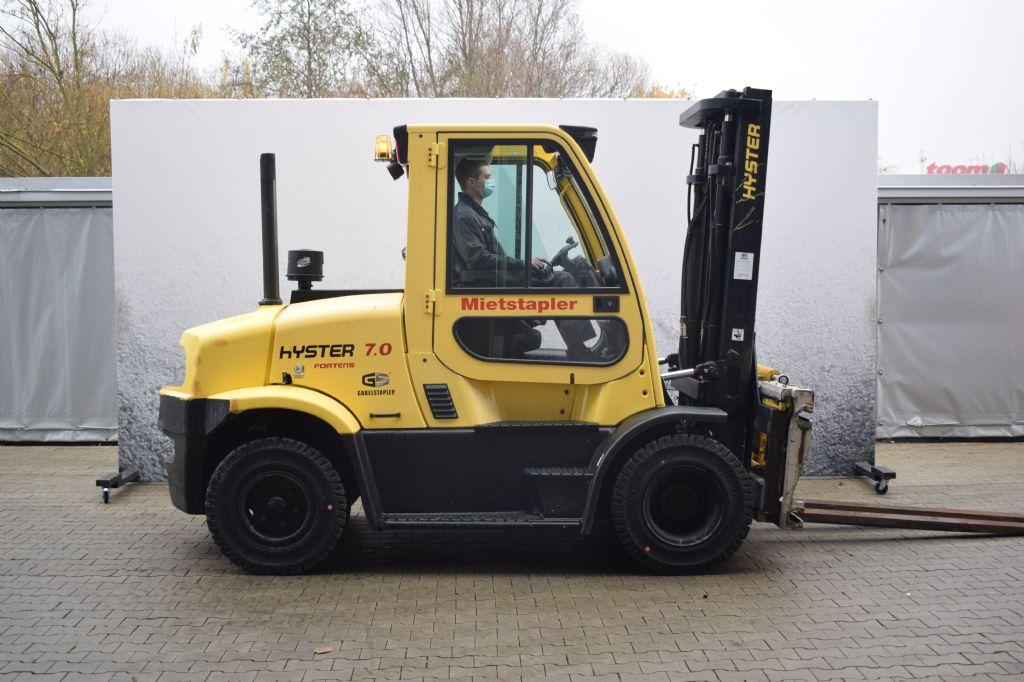 Hyster H 7.00 FT D Dieselstapler www.gs-gabelstapler.de