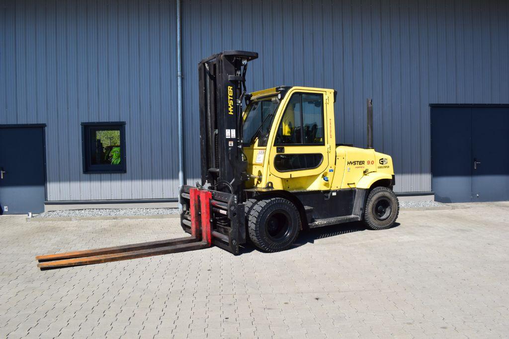 Hyster H 9.00 FT D Dieselstapler www.gs-gabelstapler.de