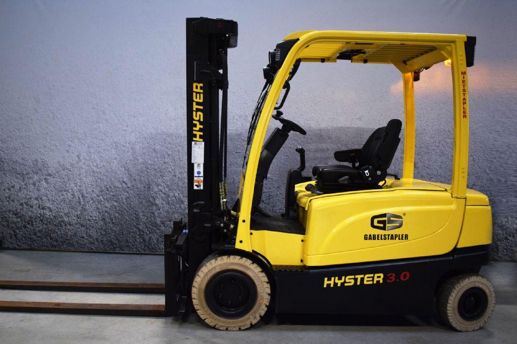 Hyster J 3.00 XN Elektro 4 Rad-Stapler www.gs-gabelstapler.de