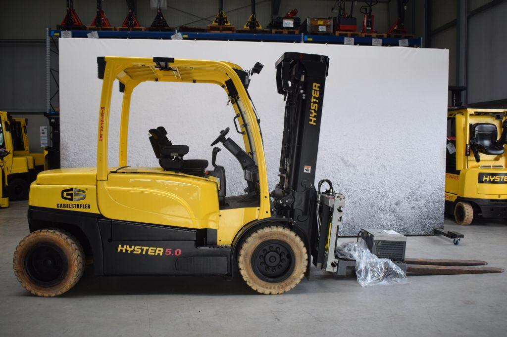 Hyster J 5.00 XN/6 Elektro 4 Rad-Stapler www.gs-gabelstapler.de